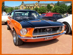 Ford Mustang, 1968 (v8dub) Tags: ford mustang 1968 schweiz suisse switzerland neuchâtel american muscle pkw pony voiture car wagen worldcars auto automobile automotive old oldtimer oldcar klassik classic collector