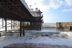 waves (curly_em) Tags: brighton eastsussex england seaside pier brightonpier sunshine sea beach