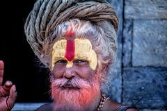 NEPAL - PEOPLE NR4 (TONY-BUENO - Barcelona) Tags: canon eos 5d 5dmkii 5dmk2 35350ef3556 35350 nepal kathmandu portrait retrato