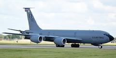 USAF United States Air Force Boeing KC-135R 57-1493 (James L Taylor) Tags: usaf united states air force boeing kc135r 571493 raf mildenhall 19917