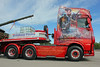 TV018156-Manchester. (day 192) Tags: manchester manchestercityfootballclub mcfc etihadstadium greatnorthwesttruckshow truckshow transportrally transportshow lorry lorries truck wagon daf xf dafxf battleofhastings grahampoole tn66daf