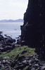 Wet cave falls. Eigg. May 1987 (Mary Gillham Archive Project) Tags: 1987 39413 eigg geology island landscape may1987 nm4783 scotland unitedkingdom gb