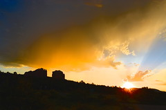 Indian Summer Sunset (belindah-Thank You!-550,000 Views Now) Tags: sunset sky clouds cathedralrock sedonaaz