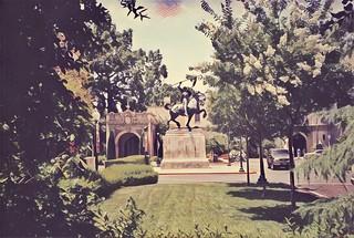 San Diego California  - Balboa Park - El Cid Campeador
