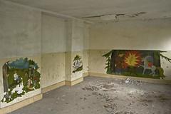_MG_6690 (daniel.p.dezso) Tags: kiskunmajsa laktanya orosz kiskunmajsai majsai former soviet barrack elhagyatott urbex abandon ruin building drawing abandoned military base militarybase