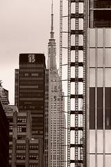 Sony Kit 55-210 View Halfway Across Manhattan (sjnnyny) Tags: highline 1pennplaza hudsonyards skyline sonye55–210mmf4563oss|sel55210 sonya6000 stevenj sjnnyny manhattan empirestatebuilding