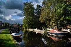 DSC_2878_a (Julysha) Tags: thenetherlands noordholland autumn 2017 d810 nikkor2418 tiffenhtndgrad september abcoude village canal rainy