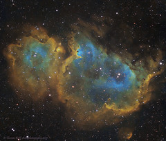 IC1848 (Thomas Butts) Tags: astrophotography soul nebula astroimaging narrowband ic1848 gt71