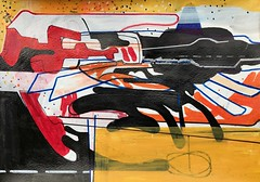 JimHarris: Untitled. (Jim Harris: Artist.) Tags: drawing dessin rysunek contemporaryart kunstzeitgenössische künstler kunst konst abstract abstrakt space cosmos