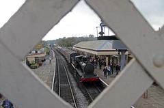 Hunslet No. 2890 at Ramsbottom (TomNoble7) Tags: hunslet austerity 2890 douglas bury ramsbottom parcels elr east lancashire railway