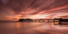 Cromer Pier Norfolk (Albert's Photo's) Tags: cromer sunrise mkiii 5d canon lee firecrest exposure long sea north pier seascape shaw graham norfolk