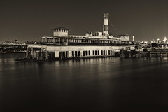 Port Of Last Call (95wombat) Tags: edgewater newjersey night dark sunken rotted decayed derelict historic ferryboat binghamton