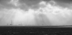 Dublin Docks in Clouds (Luke.hne) Tags: 2017 ophelia storm dublin ireland hurricane