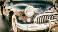 Headlight (dougkuony) Tags: 1948buickroadmaster roadmaster buick headlight headlamp car automotive grill classiccar 1948 hdr