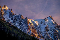Back to the mountains... (ceca67) Tags: alps savoy sunset mountains france aiguilledumidi
