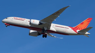 LHR - Air India Boeing 787-8 VT-ANZ