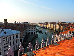The Grand Canal seen from Fondaco dei Tedeschi, Venice