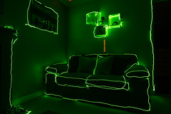 The Green Room (g3az66) Tags: thegreenroom lp lightpainting laser sofa chillout