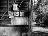 DO NOT [something] WITHOUT [something] (TwinCitiesSeen) Tags: gettysburg pennsylvania blackandwhite canon6d tamron2875mm