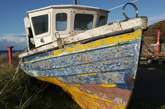 laid up (ian.robertson.63) Tags: boat beached dunure decay 46 clinkerbuilt hull
