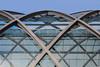Bhf. Elbbrücken (Elbmaedchen) Tags: haltestelle bahnhof elbbrücken hamburg architektur brücke elbbrücke bridge railway station nordufer norderelbe u4 röhrenform glasfassade konstruktion ubahnhof