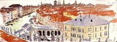171009venezia06 (Vincent Desplanche) Tags: venise venezia sketching sketch croquis urbansketchers italia italy aquarelle watercolor matiteinviaggio seawhiteofbrighton seawhitesketchbook