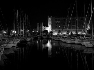 notturna al porto