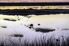 Nubes reflejadas  -  reflected clouds (ibzsierra) Tags: reflected clouds nube reflejada estanque salinas ibiza eivissa baleares canon 7d 24105isusm