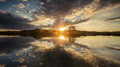 Double sunstar (Sebo23) Tags: reflections reflektionen mindelsee sunbeams sunstar sonnenuntergang sonnenstrahlen sonne sonnenstern herbst hersbstimmung abendstimmung abendlicht spiegelungen nature naturaufnahme landscape landschaft canon6d canon16354l