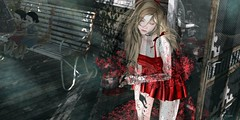 794 (Tomomi alpaca Homewood) Tags: panicofpumpkin hazy ldg moremore nini wednesday woodburyfalls horror blood