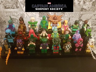 The Serpent Society in full!