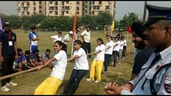 GGSIPU Sports Meet - Tug of War