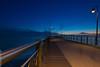 Sunset in Versilia (MassimilianoBianchini) Tags: sunset sea versilia blu suna night