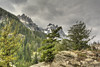 view of tetons in clouds (maryannenelson) Tags: tetons landscape wyoming treasurefalls mountains