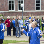"<b>Homecoming Parade</b><br/> Luther dance team takes on the streets. Saturday morning the Homecoming Parade commenced. The parade was put on by SAC, Student Activities Council. Photo Taken By: McKendra Heinke Date Taken: 10/7/17<a href=""//farm5.static.flickr.com/4478/37755942901_53a979e080_o.jpg"" title=""High res"">∝</a>"