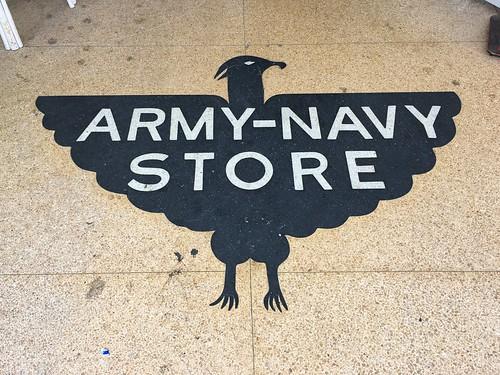 Eagle Army Navy Store Terrazzo Floor
