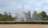 Fuente de Ceres, Aranjuez (Santos M. R.) Tags: aranjuez realsitio palacio fuente ceres parterre jardines agua diosa verde nubes clouds azul sky