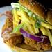 The Jamaican Chicken Burger