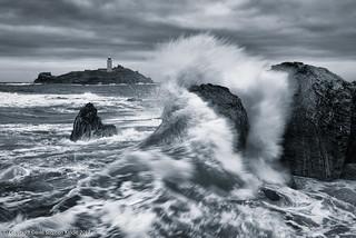 Stormy Godrevy