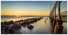 Sunrise at the jetty (pbaddz) Tags: australia longexposure le wellingtonpoint jetty water sunrise queensland