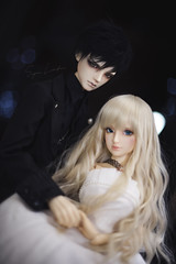 To love is nothing. (Sugar Lokifer) Tags: oasisdoll natalie sqlab luts ssdf abadon couple hybrid bjd ball jointed doll