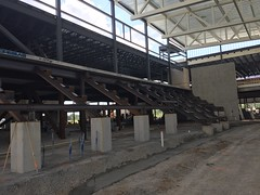 PCC Construction - Summer 2017 - Accipiter Arena Bleachers