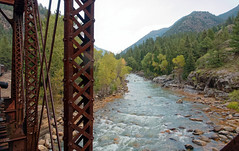 Animas River bridge R1004710 Durango & Silverton RR (Recliner) Tags: baldwin dsng drg