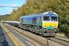 GBRf Class 66/7 66711 'Sence' - Chesterfield (dwb transport photos) Tags: gbrf locomotive 66711 sence chesterfield
