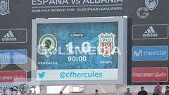 Hércules-Peña Deportiva (1-0) Fotos: J. A. Soler