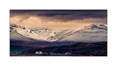 Akureyri Airport (williamwalton001) Tags: iceland borders buildings mountains snow clouds colourimage pentaxart greatphotographers legacy