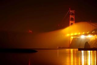 foggy reflection
