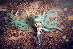 Lost Mermaid ~ (Dekki) Tags: guinevere pullip sola asian fashion doll groove jun planning junplanning rewigged rechipped eyelashes limited edition sold out toy toys mermaid