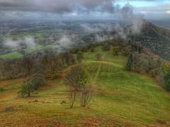 Burg Hohenzollern (Blende2,8) Tags: wiesen felder landschaft hdr wald bäume wolken badenwürttemberg nebel burg hohenzollern burghohenzollern deutschland himmel iphone