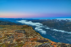 Morning view Rossnos 1407 masl (Terje Lægreid) Tags: odda outdoor canon clouds cloud colors canoneos6d color canonphotos rossnos trolltunga nature norway norge norwegen norvegia norvegen norwegianmountains natur norwegianoutdoor beautiful beauty bestofnorway eos6d eos europe exposure fjell fjelltur fjord fjords glacier hardanger himmel hiking høst horizon kaldt cold landscape light lightroom lights landskap mountain mountains mood moody paintshoppro pretty sky skyer scandinavia sunset sunrise travel utno utinaturen visitnorway wounderful wounderfulplaces weather amazing